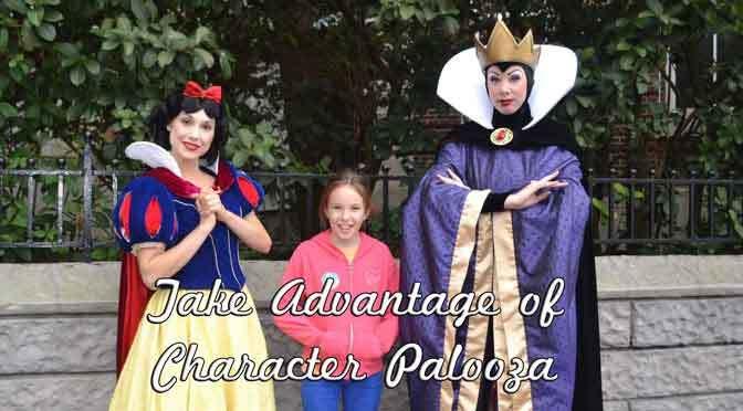 Character Palooza 2019 Schedule