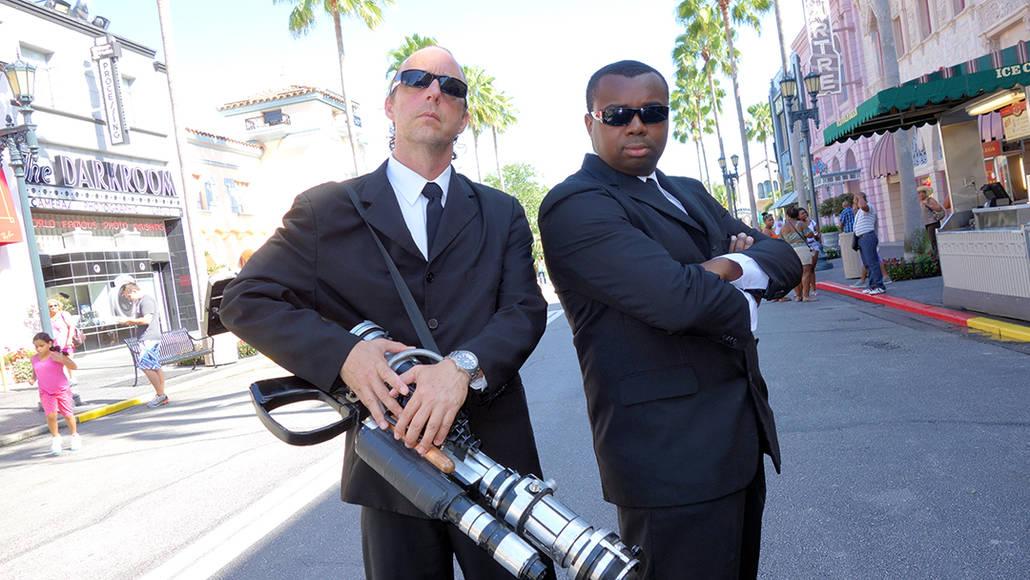 Universal Studios Orlando Men in Black Meet and Greet (2)