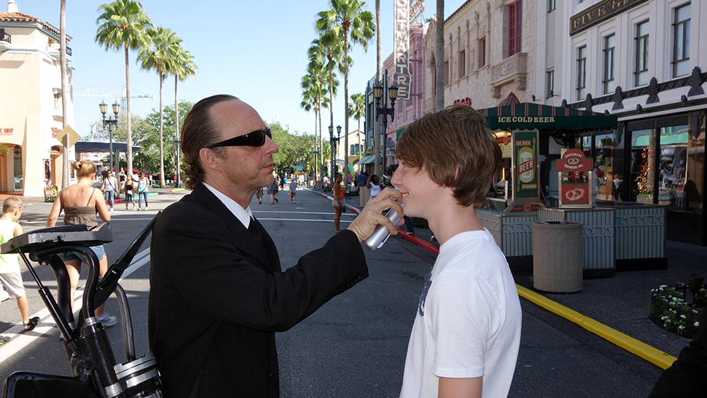 Universal Studios Orlando Men in Black Meet and Greet (4)