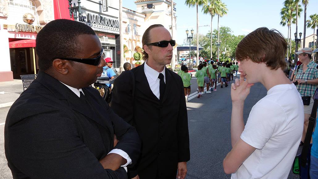 Universal Studios Orlando Men in Black Meet and Greet (8)