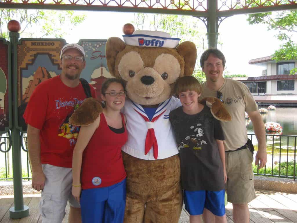 Duffy at Epcot 2011