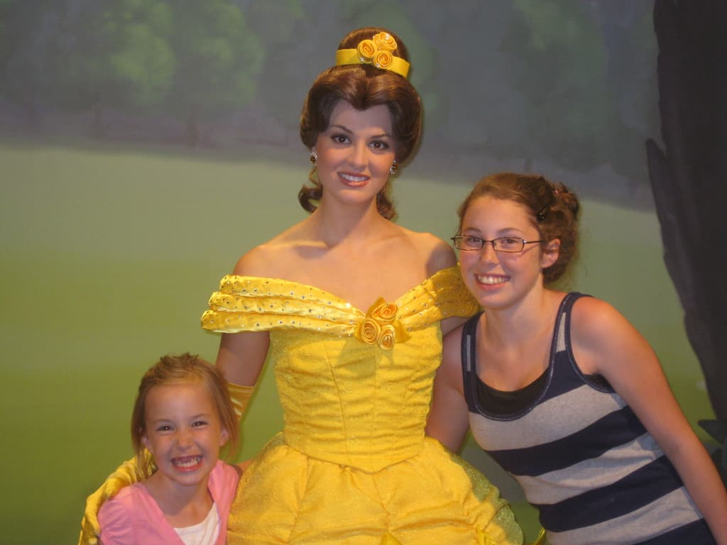 Belle at Town Square Theater in Magic Kingdom 2011