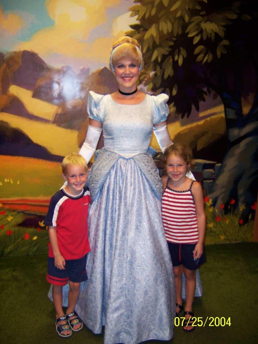 Cinderella at Toontown in Magic Kingdom 2004