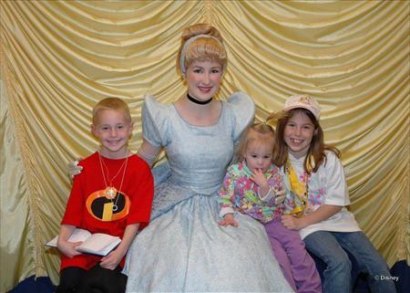 Cinderella at Toontown in Magic Kingdom 2005