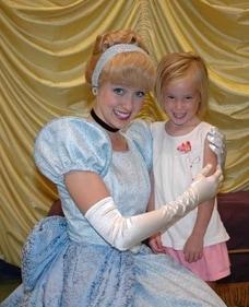Cinderella at Toontown in Magic Kingdom 2008