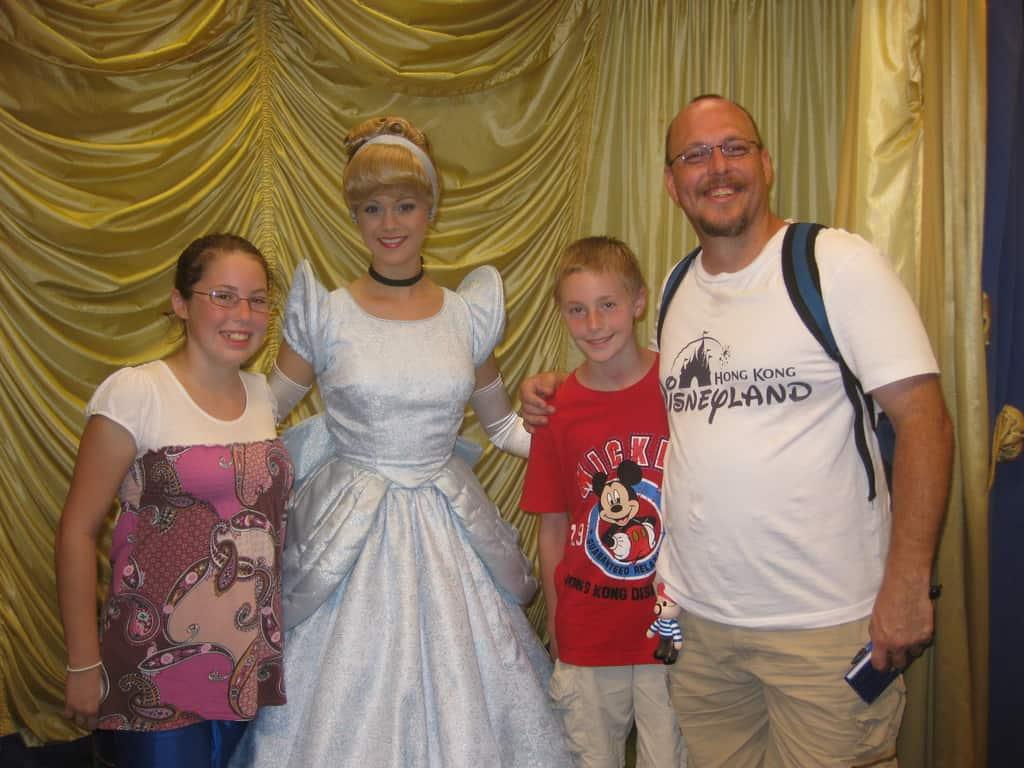 Cinderella at Toontown in Magic Kingdom 2010