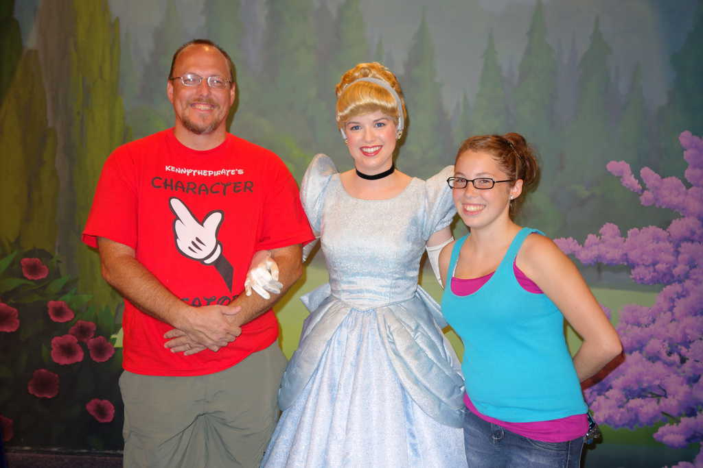 Cinderella at Town Square Theater in Magic Kingdom 2012