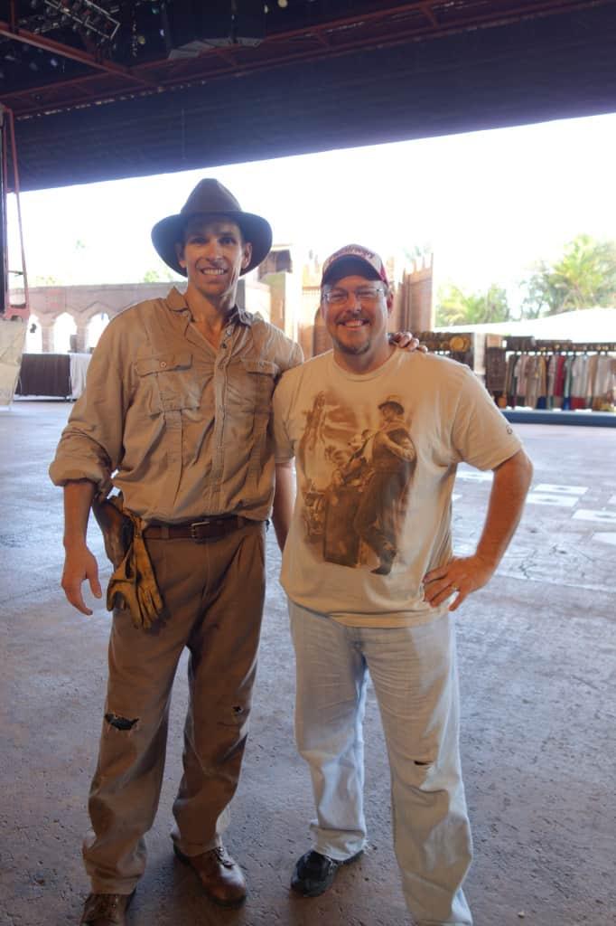 Indiana Jones at Hollywood Studios 2012