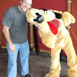 Pluto at Magic Kingdom 2013