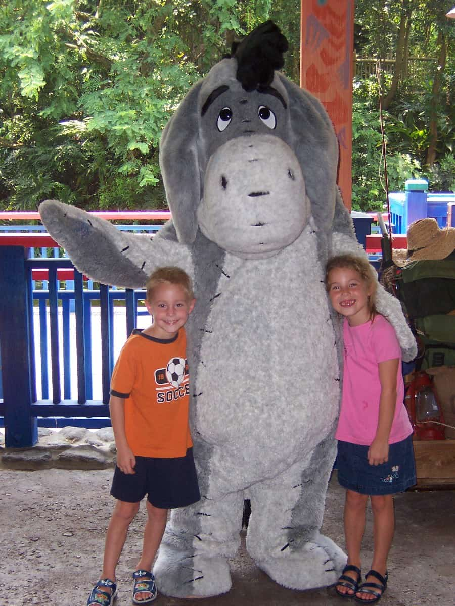 Eeyore Animal Kingdom 2004