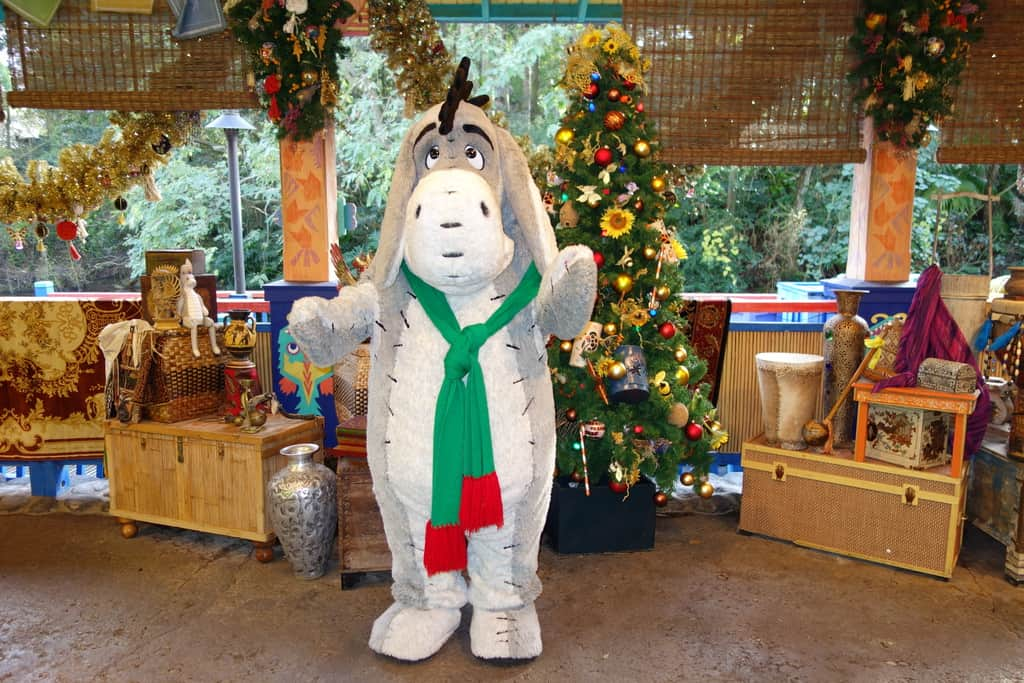 Eeyore Animal Kingdom Christmas 2012