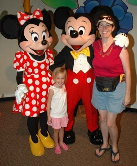 Mickey and Minnie at Toontown in Magic Kingdom 2008