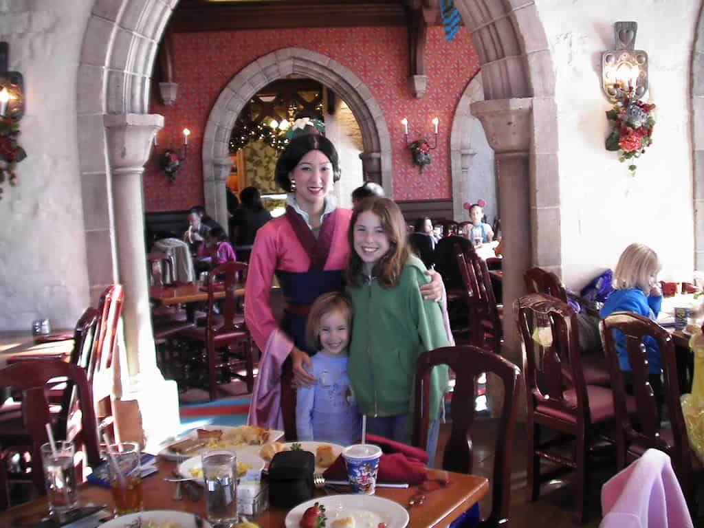 Mulan at Akershus Royal Banquet Hall in Epcot