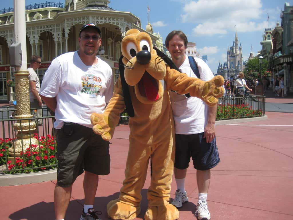 Pluto at Magic Kingdom 2010