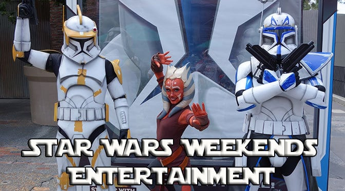 show schedules for star wars weekends at hollywood studios