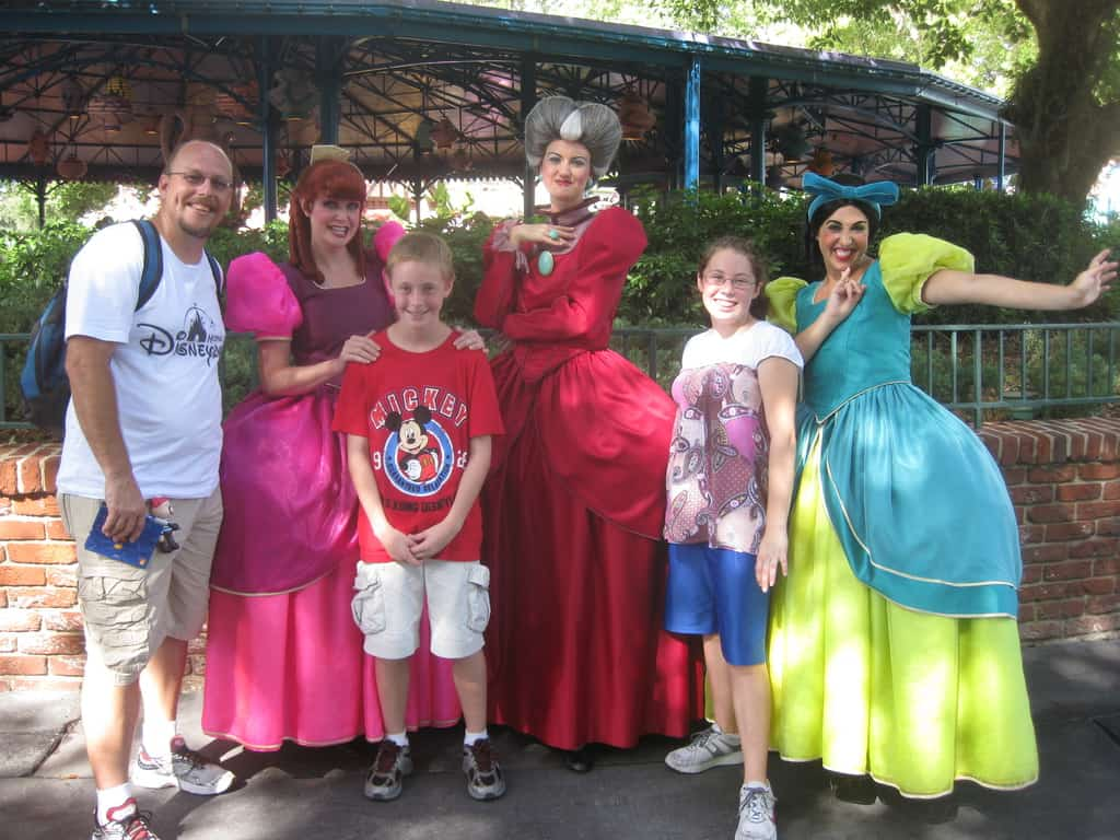 Anastasia, Drizella and Lady Tremaine Magic Kingdom 2010