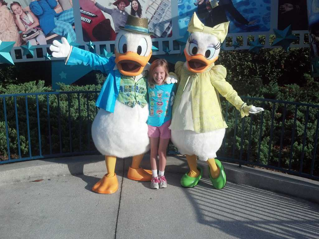 Daisy and Donald Hollywood Studios 2012