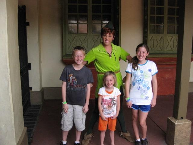 Peter Pan - Adventureland 2009