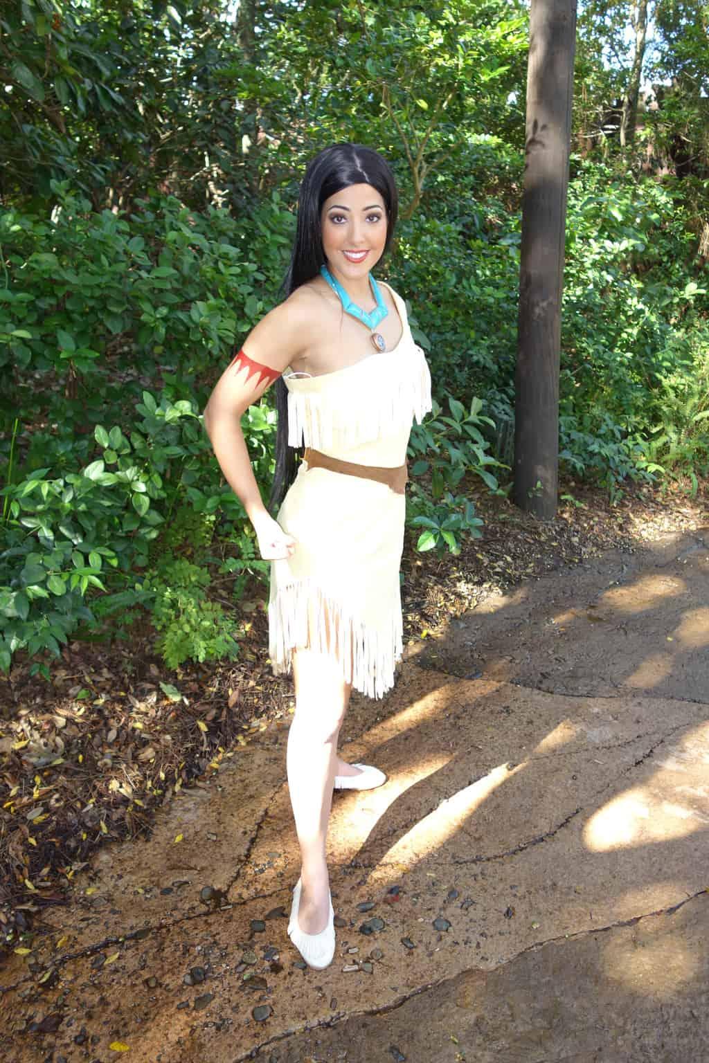Pocahontas at Animal Kingdom