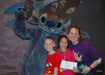 Stitch in Tomorrowland Magic Kingdom 2012