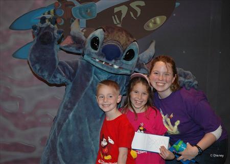 Stitch in Tomorrowland Magic Kingdom 2012