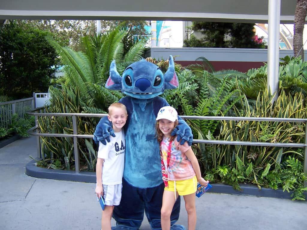 Stitch in Tomorrowland Magic Kingdom 2006