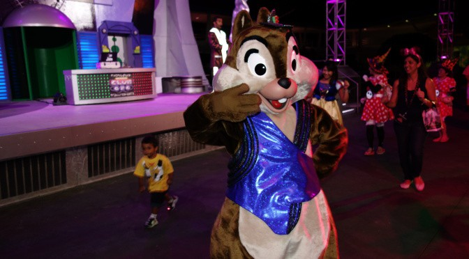 Chip n Dale move to tomorrowland and Woody n Jessie move to their old spot