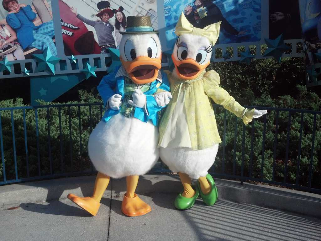 Daisy and Donald at Hollywood Studios 2012
