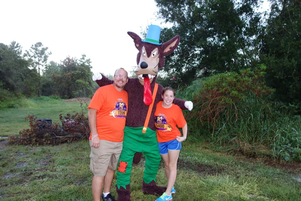 Big Bad Wolf Happy Haunted 5K Trail Run - Sept 2012