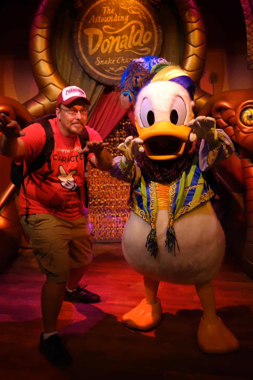Donald successfully teaches me his charming ability