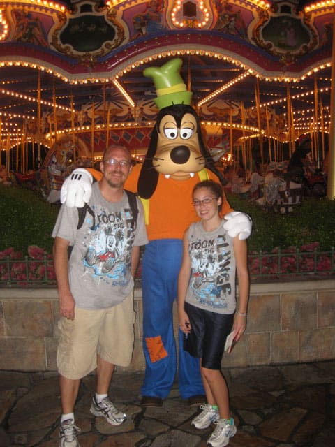 Magic Kingdom late EMH 2011