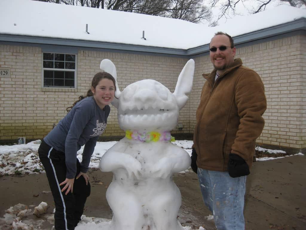 Stitch, Snowman