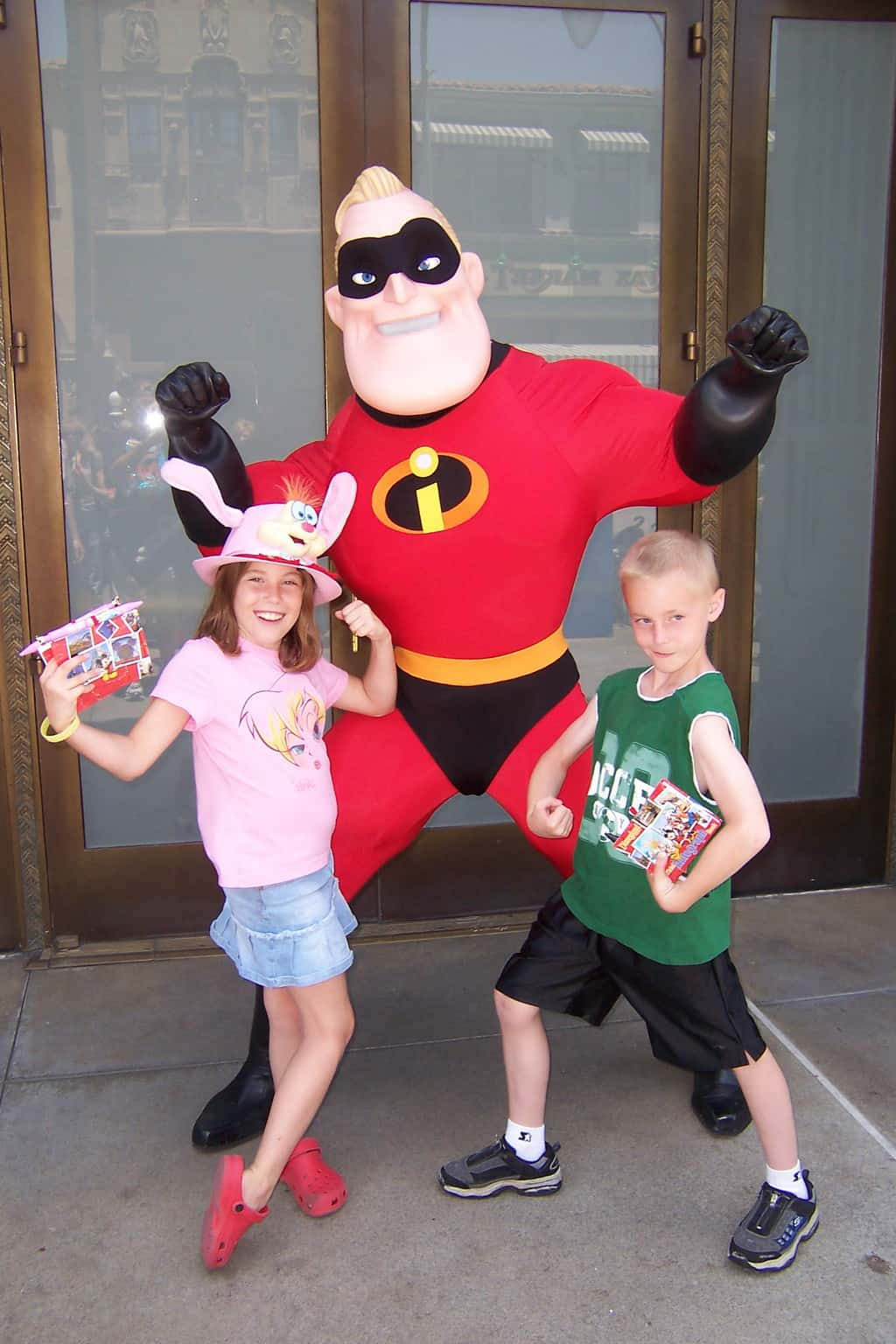 Mr. Incredible California Adventure 2007