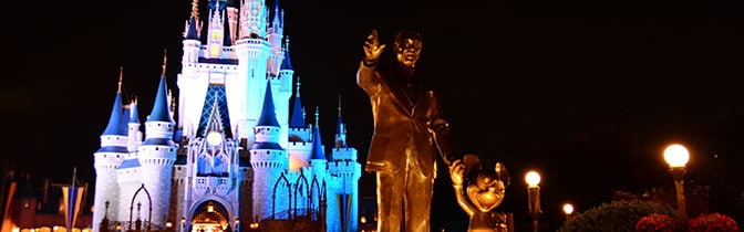Kiss Goodnight at Magic Kingdom