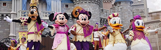 Mickey's Royal Friendship Faire at Magic Kingdom