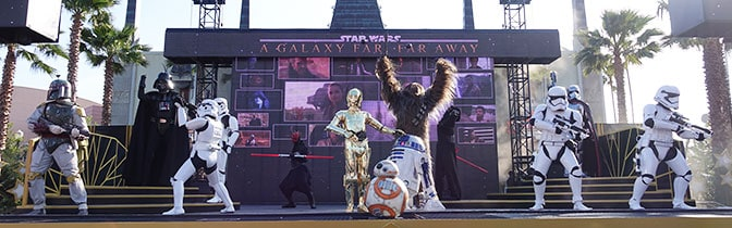 Star Wars A Galaxy Far Far Away at Hollywood Studios