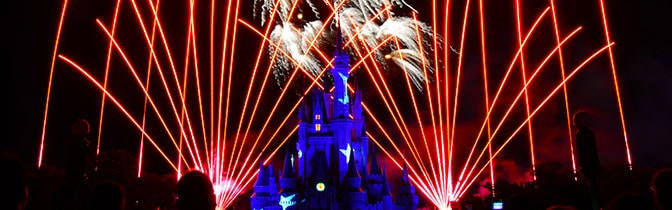 Wishes Fireworks at Magic Kingdom