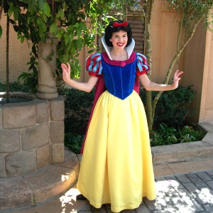 Snow White in Germany Pavilion at Epcot