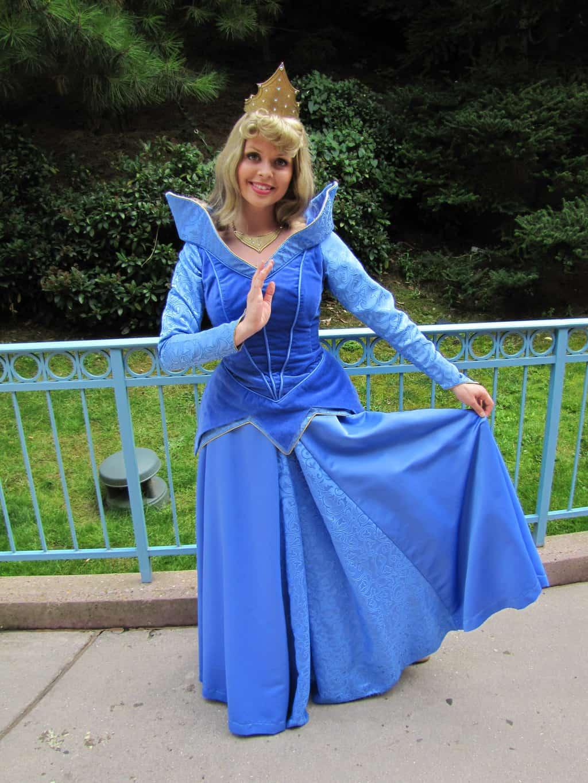 Worldwide Wednesdays: Sleeping Beauty characters and Aurora's blue