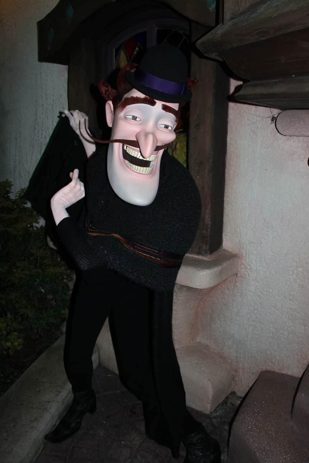 Bowler Hat Guy making an appereance during Halloween Event on the 31ste of October at DLP