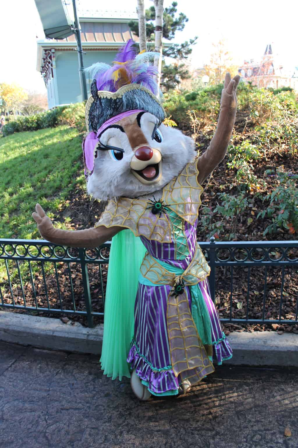 Clarice dressed for Halloween, this outfit was only used on October 31st 2012