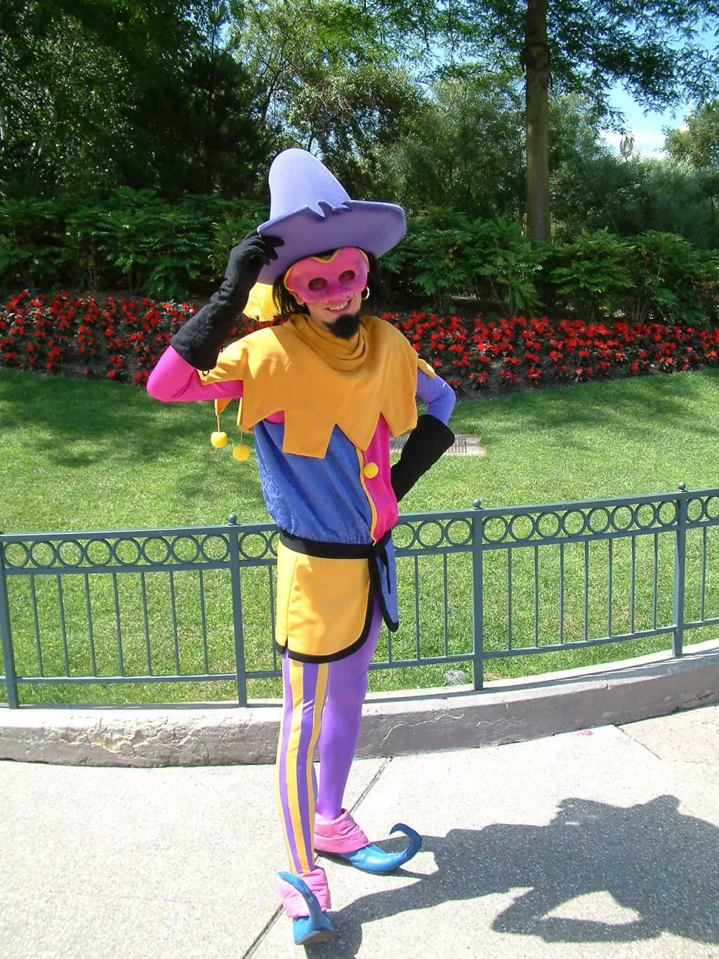 Clopin doens't come out often, but if he is out he can be found in Fantasyland most of the time.
