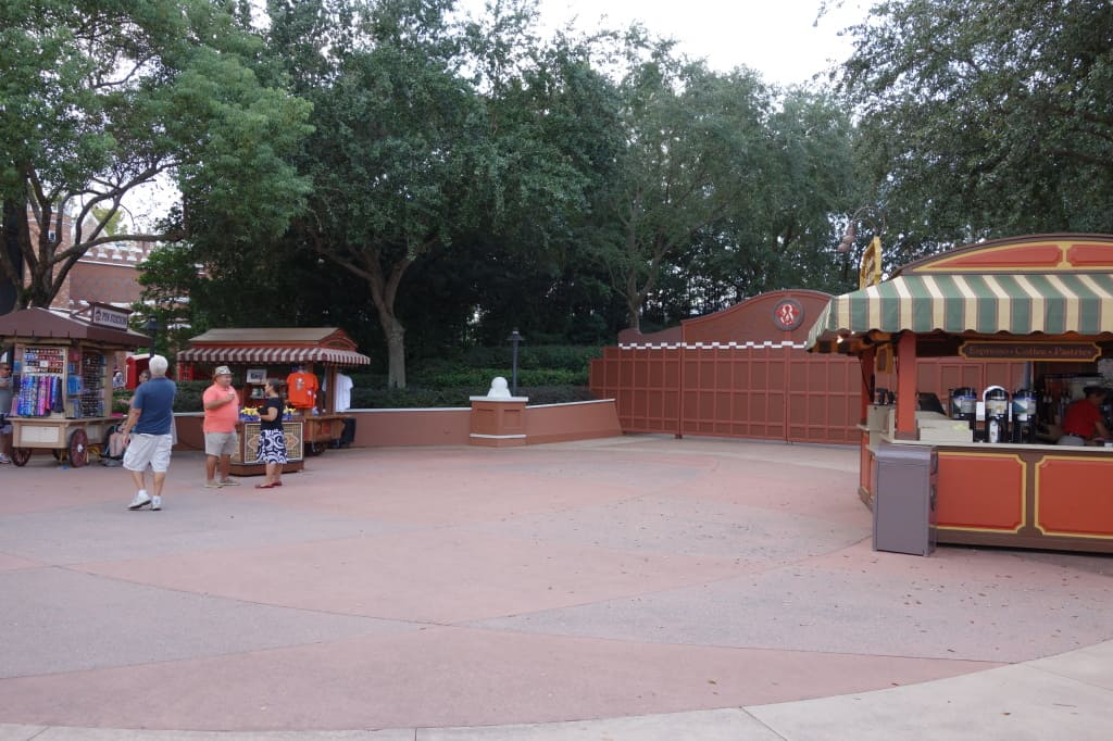 Epcot Character Training Locations