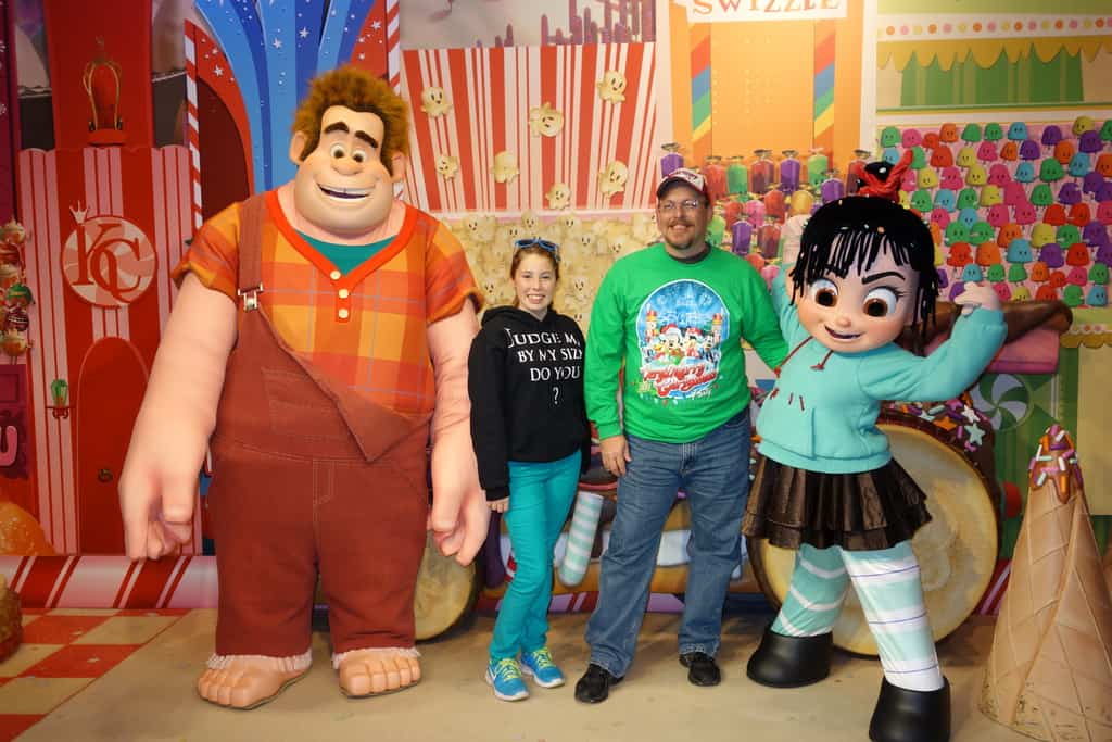 Wreck-it Ralph and Vanellope | KennythePirate's Guide to Disney World