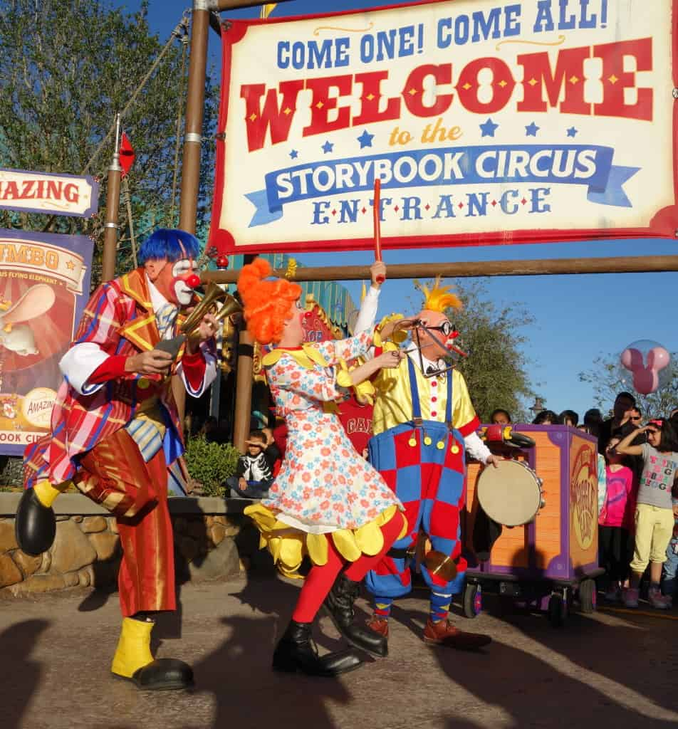Storybook Giggle Gang in Storybook Circus at the Magic Kingdom