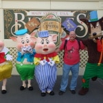 Walt Disney World, Magic Kingdom, Limited Time Magic, Long-lost Friends, Three Little Pigs, Big Bad Wolf
