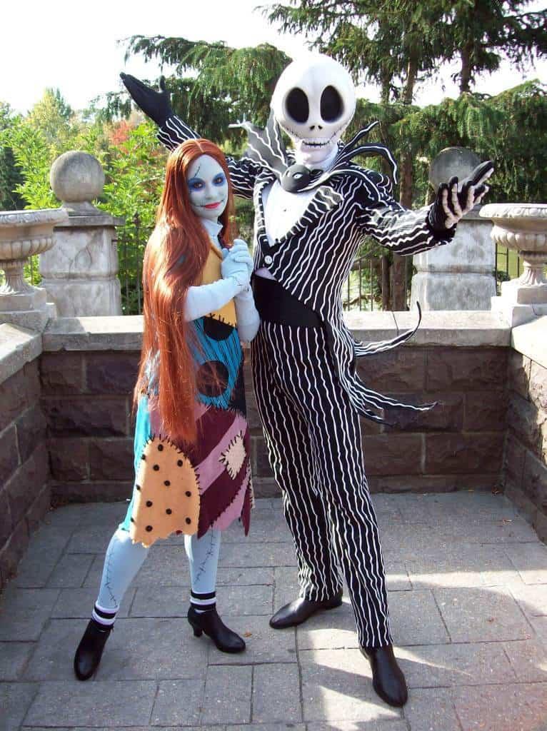 Disneyland Paris, Characters, Jack Skellington, Sally, Nightmare Before Christmas