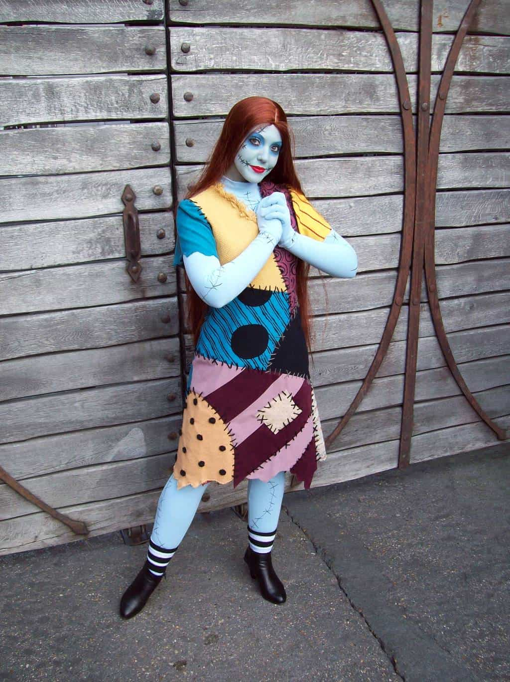 Sally does Meet'n'Greets during the Halloween Season and for the first time during the Christmas Season in 2012