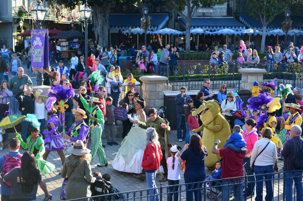 Disneyland Limited Time Magic Bayou Bash Feb 2013  Copyright Rich Muller