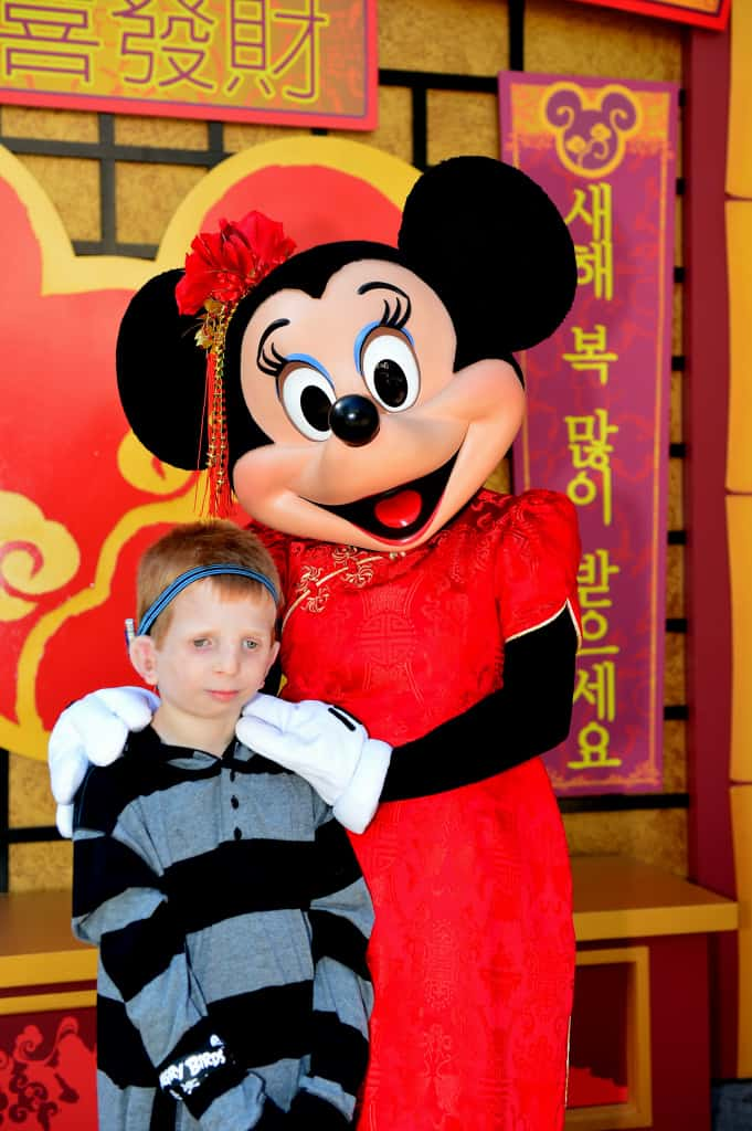 Limited Time Magic Disneyland Chinese New Year